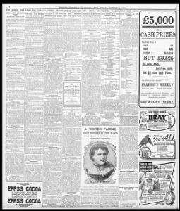 FOR WOMEN FOLK  - -)|1906-01-05|Evening Express - Welsh Newspapers