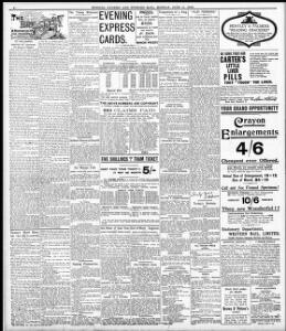 No title] 1906-06-11 Evening Express - Welsh Newspapers