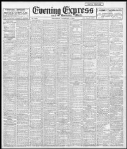 Advertising 1906-11-07 Evening Express - Welsh Newspapers