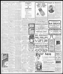 To-day's Short Story  1906-11-08 Evening Express - Welsh