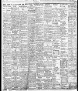 SHIPPING CASUALTIES  11|1907-05-01|Evening Express - Welsh