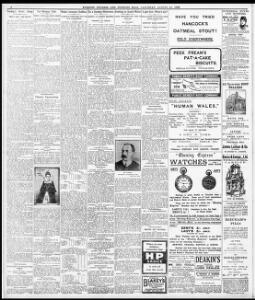 MANGLED TO DEATH AT RUDRY  !|1907-08-24|Evening Express - Welsh