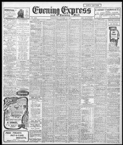 Advertising|1907-10-23|Evening Express - Welsh Newspapers
