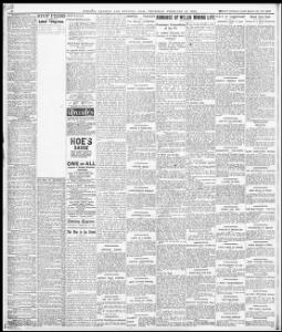 Advertising|1908 02 27|Evening Express Welsh Newspapers