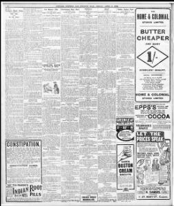 SHIPPING CASUALTIES I 1908-04-03 Evening Express - Welsh