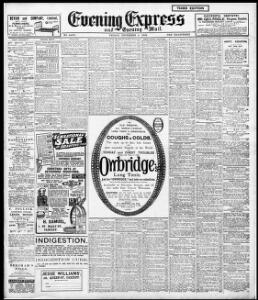 Advertising 1908-12-04 Evening Express - Welsh Newspapers