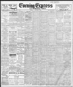 Advertising|1909-01-19|Evening Express - Welsh Newspapers