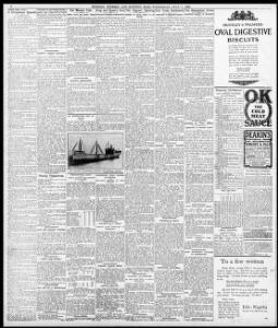 INCIDEN r A TRAIN I|1909-07-07|Evening Express - Welsh