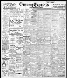 Advertising 1909-08-09 Evening Express - Welsh Newspapers