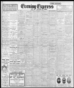 Advertising 1909-09-18 Evening Express - Welsh Newspapers