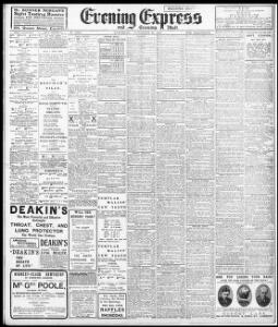 Advertising 1909-11-20 Evening Express - Welsh Newspapers