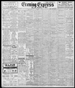 Advertising 1910-01-03 Evening Express - Welsh Newspapers