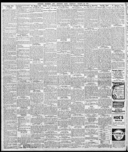 ILOCAL TIDE TABLEI|1910-03-29|Evening Express - Welsh