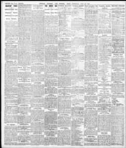 GLOUCESTER V  NEWPORT  !|1910-05-26|Evening Express - Welsh