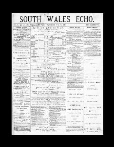 Thumbnail of a page from South Wales Echo