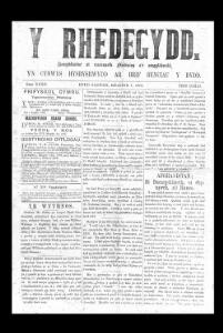 Thumbnail of a page from Y Rhedegydd