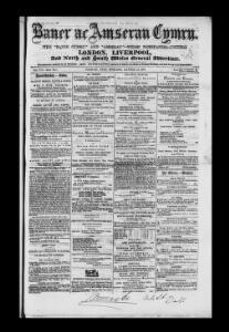 Advertising|1865-03-22|Baner ac Amserau Cymru - Welsh