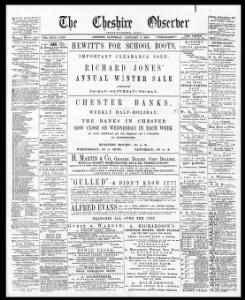 Thumbnail of a page from Cheshire Observer