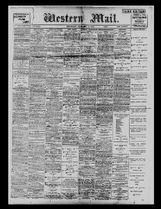 Advertising 1897-01-14 The Western Mail - Welsh Newspapers