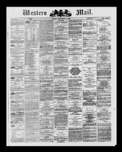 Thumbnail of a page from The Western Mail