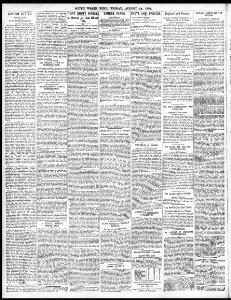 LONDON LETTER |1885-08-14|South Wales Echo - Welsh