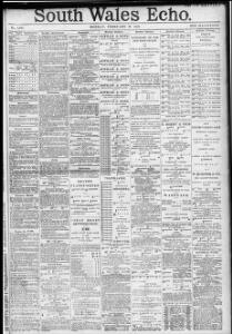 Advertising|1888-02-13|South Wales Echo - Welsh Newspapers Online