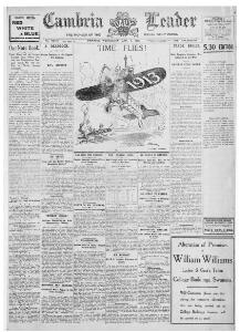 Thumbnail of a page from The Cambria Daily Leader