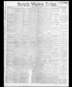 Advertising|1891-07-07|South Wales Echo - Welsh Newspapers Online