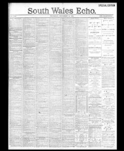 Advertising|1891-11-26|South Wales Echo - Welsh Newspapers
