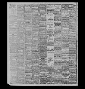 DEATH OF MR  GEORGE OVERTON, OF BRECON |1883-05-02|The