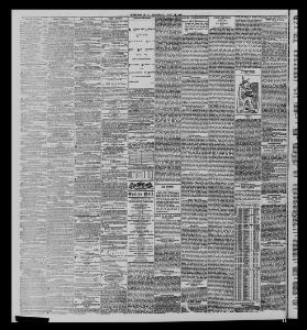 CONTENTS OF THIS DAY'S PAPER  I|1887-07-28|The Western Mail - Welsh