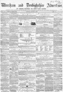 Thumbnail of a page from Wrexham and Denbighshire Advertiser and Cheshire Shropshire and North Wales Register
