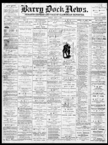 Thumbnail of a page from Barry Dock News
