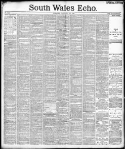 Advertising|1896-01-14|South Wales Echo - Welsh Newspapers Online
