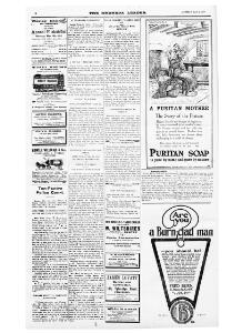 Advertising 1916-05-06 The Rhondda Leader - Welsh Newspapers